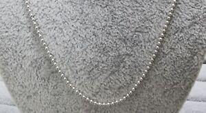 Pandora 399104C00 Polierte Kugel Halskette 60cm S925 ALE