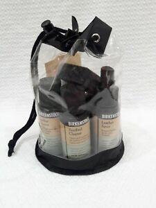 Birkenstock Complete Shoe Care Kit - Never Used/ Travel Bag w/ bonus Naturalizer