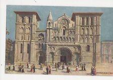 Bordeaux Eglise St Croix Vintage Tuck Postcard 276a