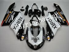 Fit for Ducati 749/999 2005 2006 Black White ABS Injection Mold Fairing Kit