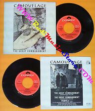 LP 45 7'' CAMOUFLAGE The great commandment Pompeji 1987 italy (*) no cd mc dvd