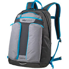 NEW 2015 MARMOT TURNSTILE BACKPACK WITH LAPTOP & TABLET SLEEVES STEEL/ SLATE GRE