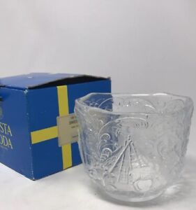 Rhapsody By Kosta Boda Sweden Design By Kjell Engman Crystal