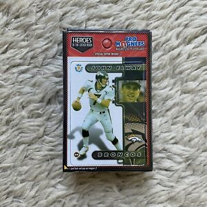 Lot of 20 Vintage 90s John Elway Pro Magnets Cards New in Package NFL