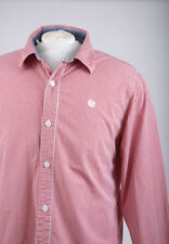 L265/18 Fat Face Red Cotton Check Shirt, size L