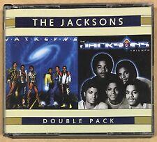 THE JACKSONS Double Pack OZ 2CD Rare Michael Jackson