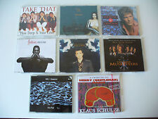 """Albumkonv.""""Maxi CD"""" m. U96, Haddaway, Take That, Joachim Witt, 8St. (Kon.Nr.714)"""