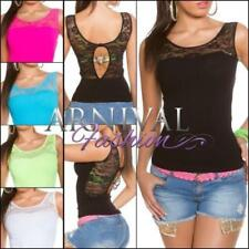 Regular Size Casual Floral Tank, Cami Tops & Blouses for Women