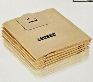 6.959-535.0 5 x Genuine Karcher Vacuum Cleaner Bags WD3 K2204