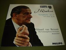 Philips Hi-Fi Stereo 835 015 LP Brahms - Symphony No 1, Eduard van Beinum
