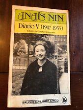 Anais Nin, Diario V, 1947-1955 / Anaïs Nin