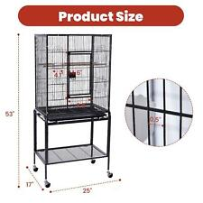 """53"""" Extra large bird cage parrot bird cage with stand bird macaw parrot Cockatoo"""