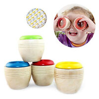 FT- Best Wooden Kaleidoscope Baby Children Learning Educational Puzzle Sensory T