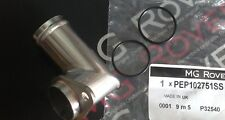 GENUINE MG ZT ROVER 75 RADIATOR 90 DEGREE PIPE OUTLET UPGRADE PEP102751SS