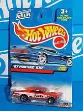 Hot Wheels 2000 Mainline #226 '67 Pontiac GTO Orange TIGER Racing w/ 5SPs