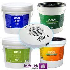 ONA GEL Air Odour Control Smell Eliminator ALL SCENTS Hydroponics 500ml 1L 4L 20