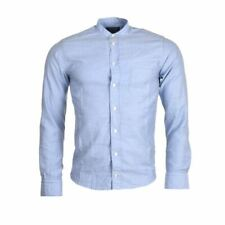 "ETON Shirt Blue Cotton Slim Fit Size 36cm / 14"" Collar RRP £135 MC 100"