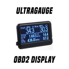 Ultra Gauge EM Plus v1.2 OBD2 Live Data Scanner Boost Gauge
