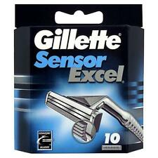 Gillette Sensor Excel Blades 10 Pack  ***UK Seller***   **Fast Dispatch**