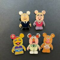 Vinylmation Collectors Set - Muppets - 5 Pins ONLY Disney Pin 78301