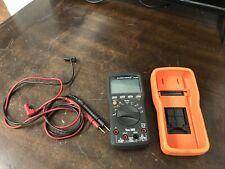 Klein Tools Mm2000 True Rms Cat Iv Digital Multimeter w/ leads - Used - Cv477