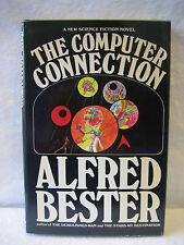 Alfred Bester COMPUTER CONNECTION vintage science fiction hardcover book 1975 HC