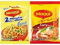 Maggi 2-Minute Noodles Masala/Curry Flavour(Various Pack Size)