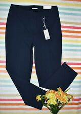 NEW LANE BRYANT THE ALLIE SEXY STRETCH SKINNY ANKLE PANTS 14R NAVY BLUE