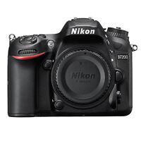 Nikon D7200 24.2 Mp DX-Format CMOS WiFi Digital SLR Camera Body Only