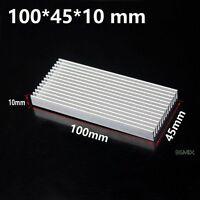 100x45x10mm Aluminum Heat Sink Processor Power Transistor IC Chip FET PA Supply