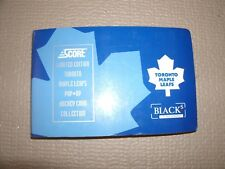 1992-93 Toronto Maple Leafs Score Pop-Up Hockey Card Set
