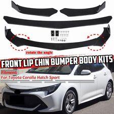 For Toyota Corolla Hatch Sport Ascent 19-20 Front Bumper Lip Spoiler Splitter