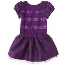 70% OFF! CHEROKEE INFANT GIRLS' DROP-WAIST SEQUIN DRESS 18 MOS