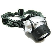 TITAN 19 LED ADJUSTABLE PIVOTING HEAD LIGHT LAMP HEADLAMP CAMPING HIKING CAVING
