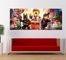 Lego Movie Star Wars Large Poster Banner Nursery Kids Room Decor Wall Art