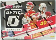 2019  OPTIC FOOTBALL  COLLECTOR'S & BLASTER SEALED BOX LOT