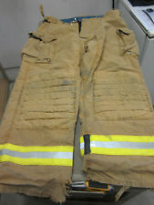Size 46 X 32 Morning Pride Fire Fighter Turnout Pants Good Dirty
