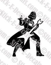 Star Wars Heavy Metal Darth Vader Vinyl Decal Sticker - FREE USA SHIPPING