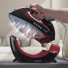 Steam Iron Ceramic Soleplate 2200W Cordless Corded 2in1 Non Stick Easy Steam NEW