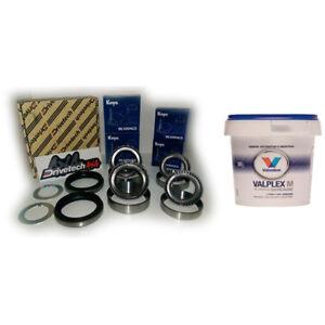 Front Wheel Bearing Kit Premium Koyo + Valvoline Grease for Nissan GQ GU Patrol