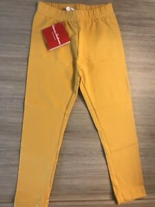 Hanna Andersson 100 4T New NWT Leggings Pants Turning Leaf Yellow Autumn Winter