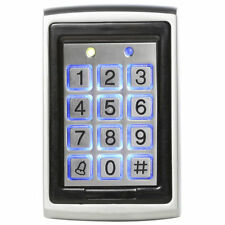 Metal RIFD standalone Access Control Reader 125Khz with Keypad & Tags-Back Light