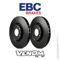EBC OE Rear Brake Discs 233mm for VW Golf Mk4 1J 1.8 GTi 125bhp 99-2003 D816