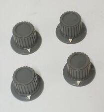 4 Heathkit Grey Pointer Oscilloscope Test Equipment Knobs