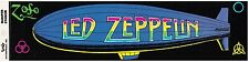 Led Zeppelin Zoso vintage bumper Sticker