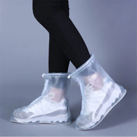 Waterproof Protector Shoes Boot Cover Unisex Zipper Rain Shoe Covers Anti-Slip
