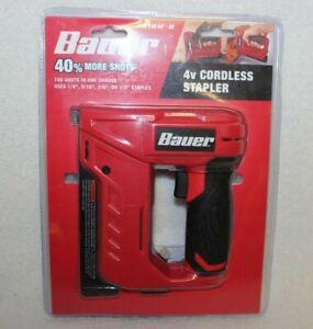 New! Bauer 4v Cordless Stapler  20181F-B