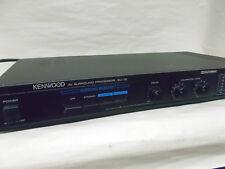 Used Vgc Kenwood Av Surround Processor Sc-75 clean unit works well slim design