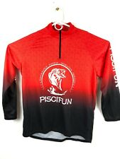 Piscifun Fishing Reels, Rods & Line (XL) Pullover Long Sleeve 1/4 Zip Up Shirt