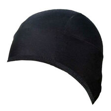 New Super Roubaix Cycling Skull Cap Head Warmer Beanie Skull Cap Hat Plain Black
